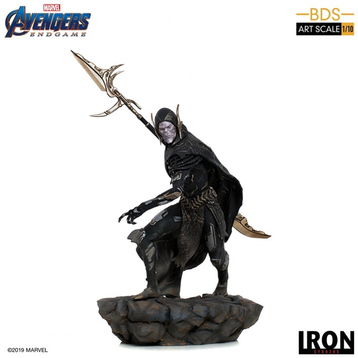 Marvel: Avengers Endgame - Corvus Glaive 1:10 Scale Statue Iron Studios Product