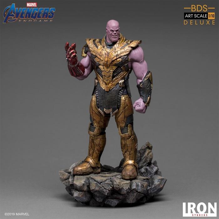 Marvel: Avengers Endgame - Deluxe Thanos Black Order 1:10 Scale Statue Iron Studios Product