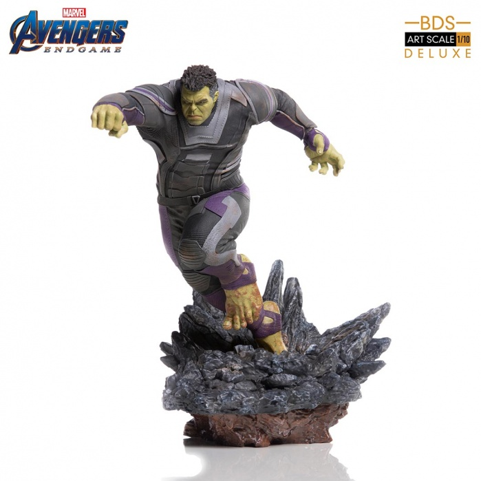 Marvel: Avengers Endgame - Deluxe The Hulk 1:10 scale Statue Iron Studios Product