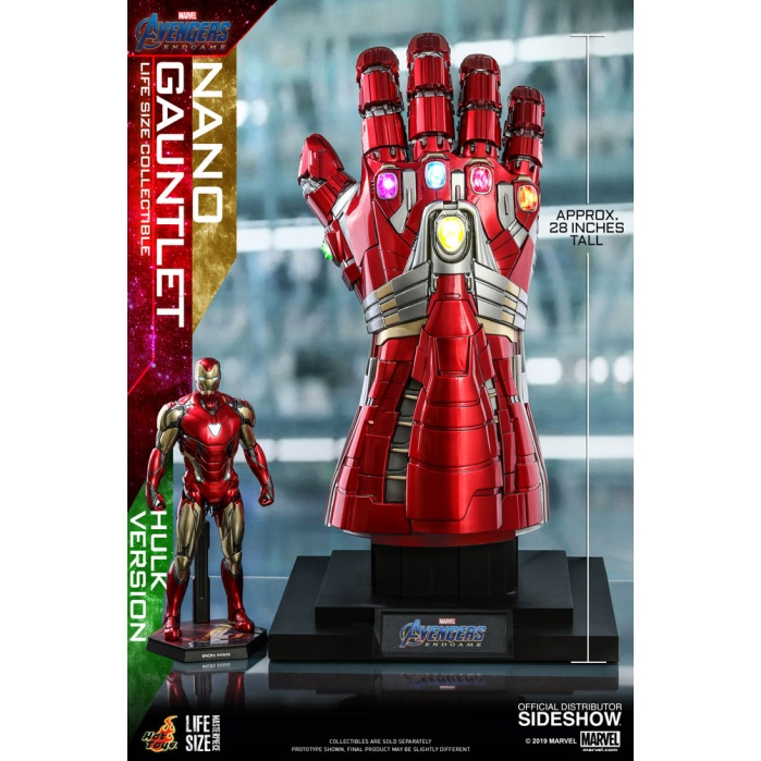 Marvel: Avengers Endgame - Hulk Nano Gauntlet Life-Size Replica Hot Toys Product