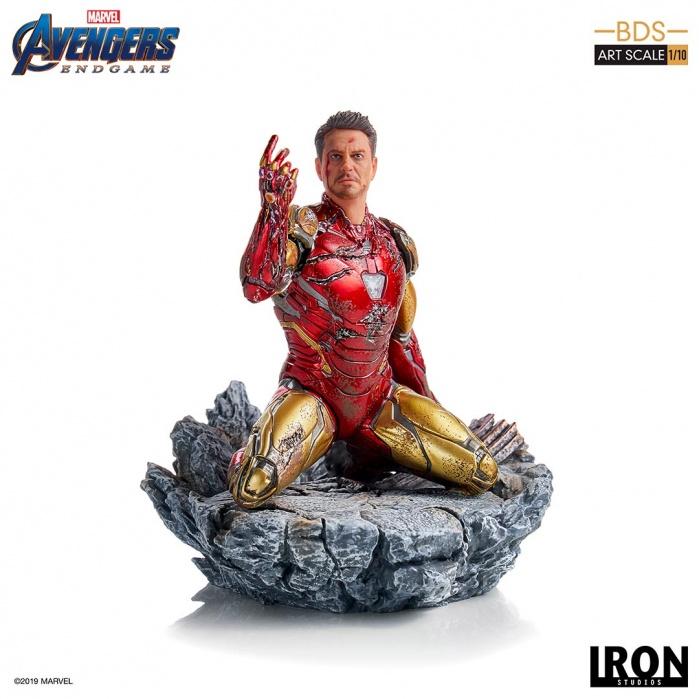 Marvel: Avengers Endgame - I Am Iron Man 1:10 Scale Statue Iron Studios Product