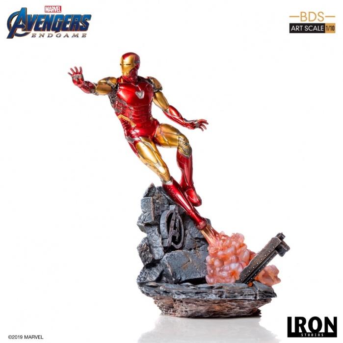 Marvel: Avengers Endgame - Iron Man Mark LXXXV 1:10 Scale Statue Iron Studios Product