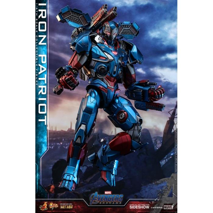 Marvel: Avengers Endgame - Iron Patriot 1:6 Scale Figure Hot Toys Product