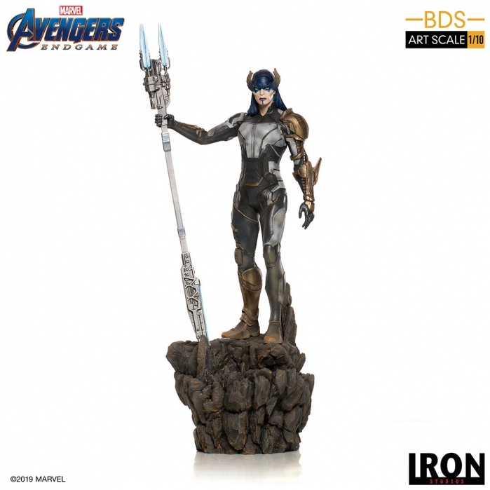 Marvel: Avengers Endgame - Proxima Midnight 1:10 Scale Statue Iron Studios Product
