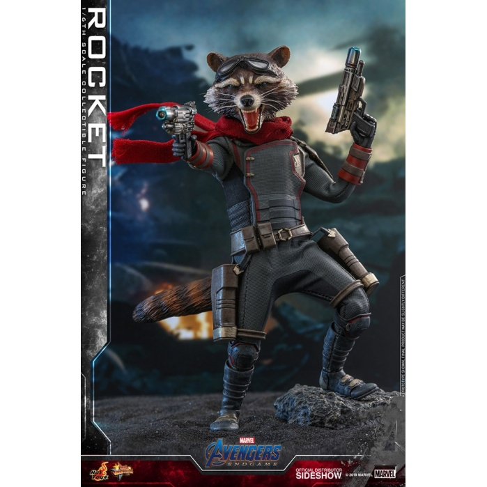 Marvel: Avengers Endgame - Rocket 1:6 Scale Figure Hot Toys Product