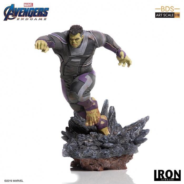 Marvel: Avengers Endgame - The Hulk 1:10 scale Statue Iron Studios Product