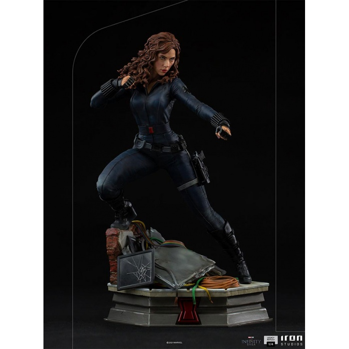 Marvel: Avengers Infinity Saga - Black Widow 1:4 Scale Statue Sideshow Collectibles Product