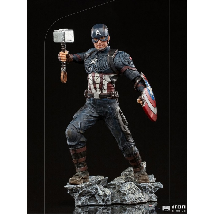 Marvel: Avengers Infinity Saga - Ultimate Captain America 1:10 Scale Statue Iron Studios Product