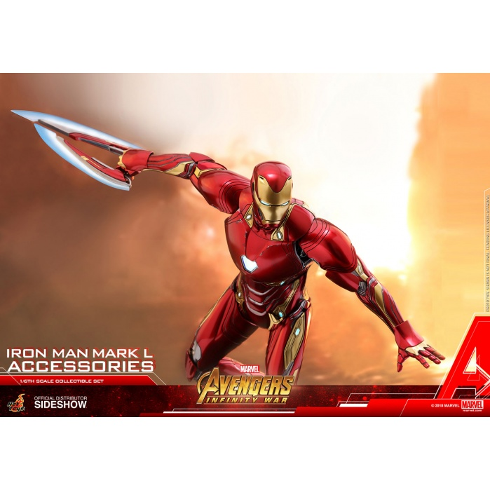 Marvel: Avengers Infinity War - Iron Man Mark L Accessories Set Hot Toys Product
