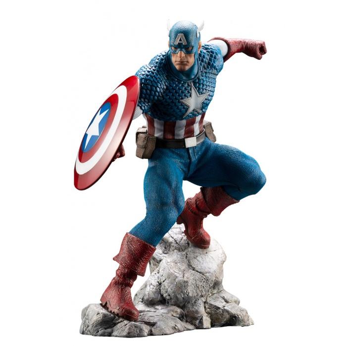 Marvel: Captain America Artfx Premier PVC Statue Kotobukiya Product