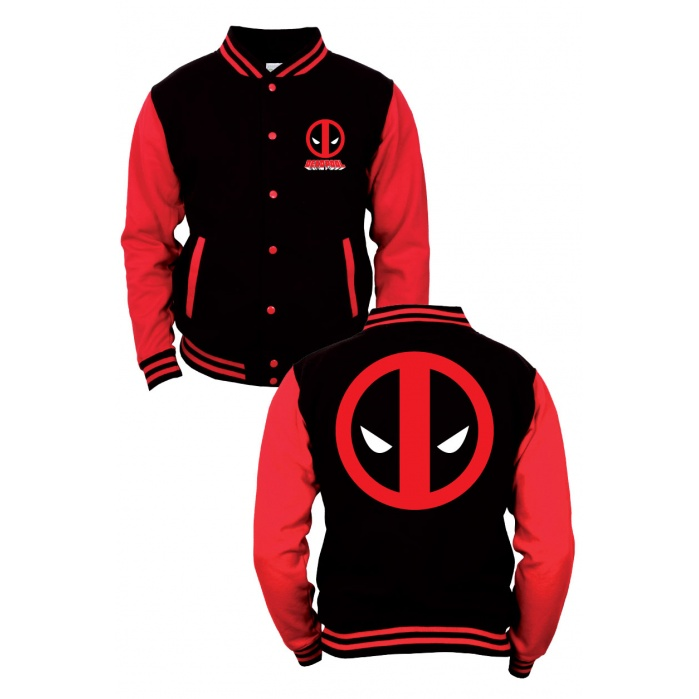 Marvel Comics Baseball Varsity Jacket Deadpool Codi Product
