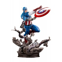 Marvel Comics Fine Art Statue 1/6 Captain America 36 cm Kotobukiya Product
