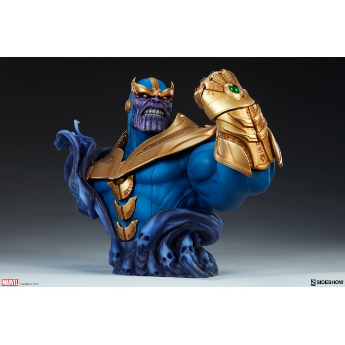 Marvel: Comics - Thanos 10.5 inch Bust Sideshow Collectibles Product