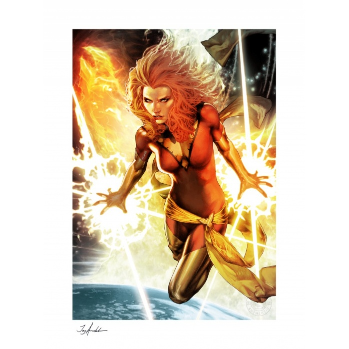 Marvel: Dark Phoenix Unframed Art Print Sideshow Collectibles Product