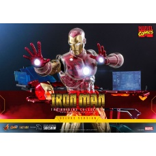Marvel: Deluxe Iron Man Suit Armor 1:6 Scale Figure | Hot Toys