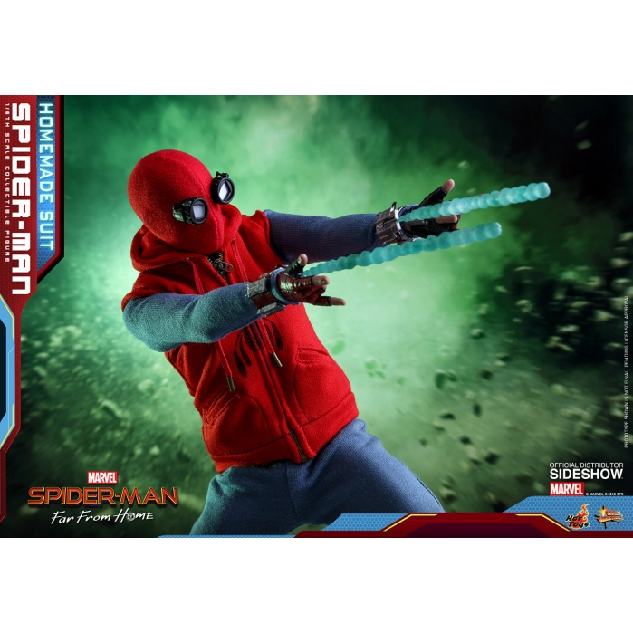 Marvel: Far from Home - Spider-Man Homemade Suit 1:6 Scale figure Hot Toys Product