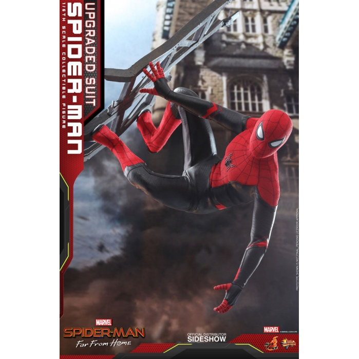 Marvel: Far from Home - Upgraded Suit Spider-Man 1:6 Scale Figure Hot Toys Product