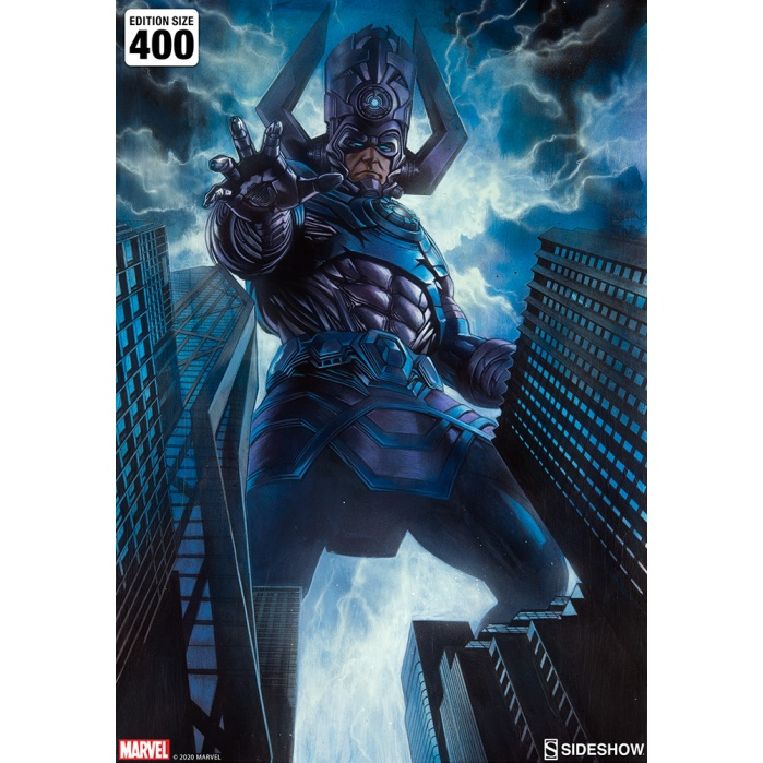 Marvel: Galactus Unframed Art Print Sideshow Collectibles Product