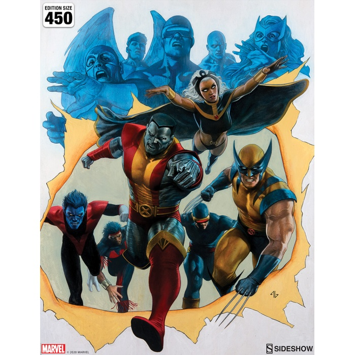 Marvel: Giant-Size X-Men Unframed Art Print Sideshow Collectibles Product