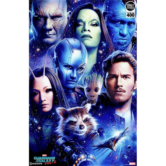 Marvel: Guardians of the Galaxy Vol. 2 - Unframed Art Print Sideshow Collectibles Product