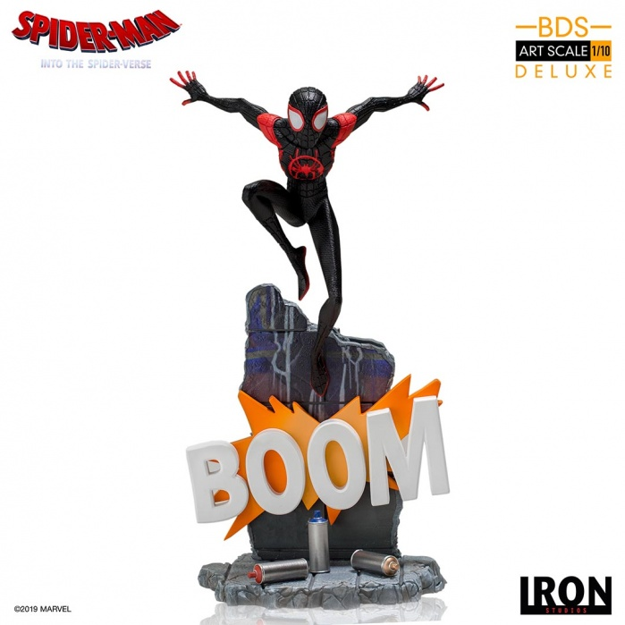 Marvel: Into the Spider-Verse - Miles Morales 1:10 scale Statue Iron Studios Product