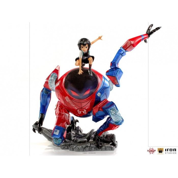 Marvel: Into the Spider-Verse - Peni Parker and SP-dr 1:10 Scale Statue Iron Studios Product