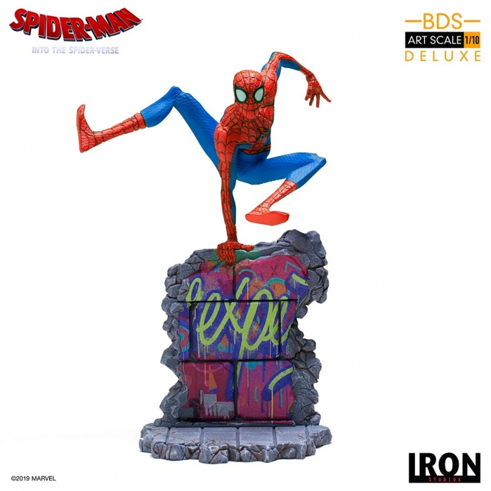 Marvel: Into the Spider-Verse - Peter B. Parker 1:10 scale Statue Iron Studios Product