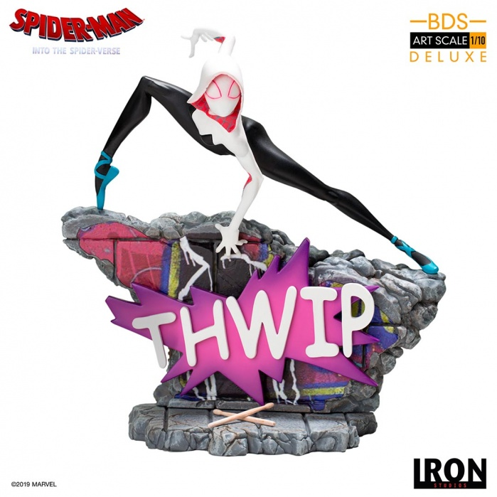 Marvel: Into the Spider-Verse - Spider-Gwen 1:10 Scale Statue Iron Studios Product