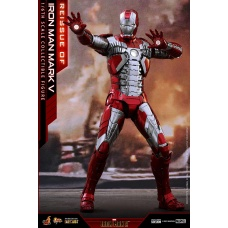 Marvel: Iron Man 2 - Iron Man Mark V 1:6 Scale Figure - Hot Toys (EU)