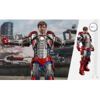 Marvel: Iron Man 2 - Tony Stark Mark V Up Version 1:6 Scale Figure Hot Toys Product