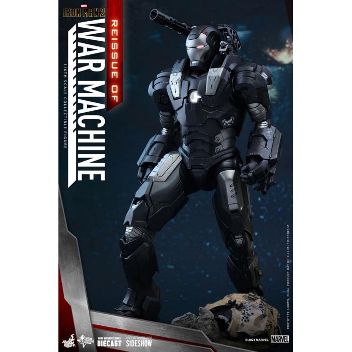 Marvel: Iron Man 2 - War Machine 1:6 Scale Figure Hot Toys Product