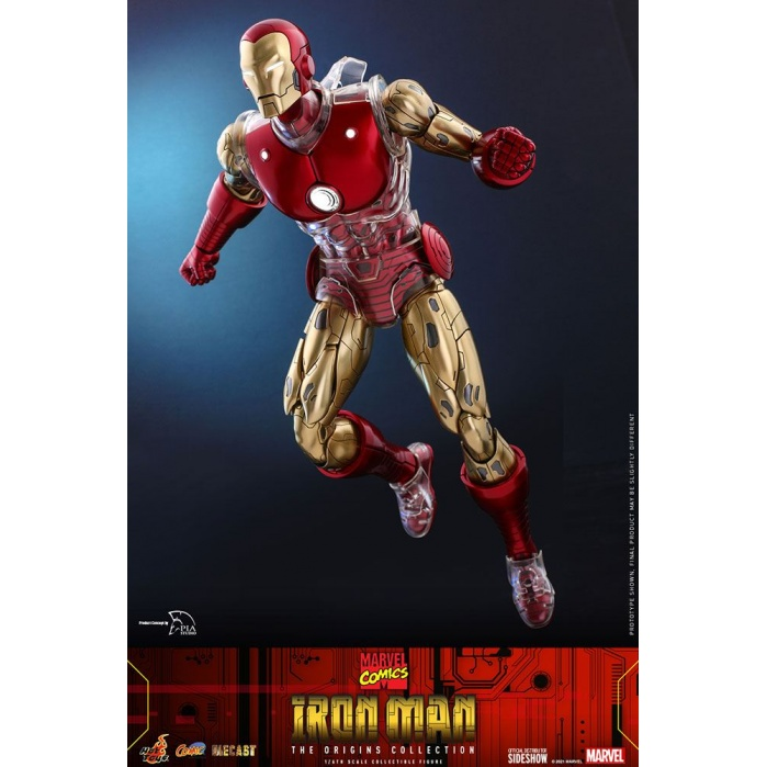 Marvel: Iron Man Suit Armor 1:6 Scale Figure Hot Toys Product