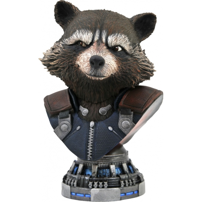 Marvel: Legends in 3D - Avengers Endgame Rocket Raccoon 1:2 Scale Bust Diamond Select Toys Product