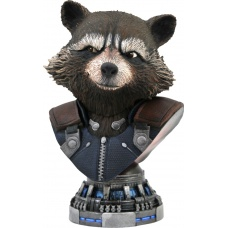 Marvel: Legends in 3D - Avengers Endgame Rocket Raccoon 1:2 Scale Bust Diamond Select Toys Product Image