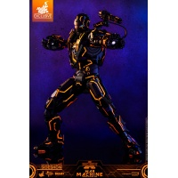 Marvel: Neon Tech War Machine 1:6 Scale Figure Hot Toys Product