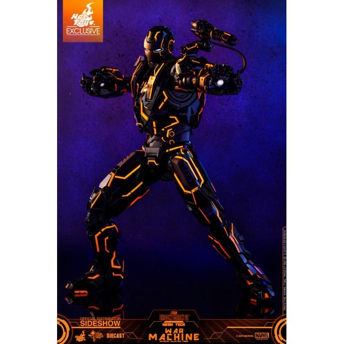 Marvel: Neon Tech War Machine 1:6 Scale Figure Hot Toys Product