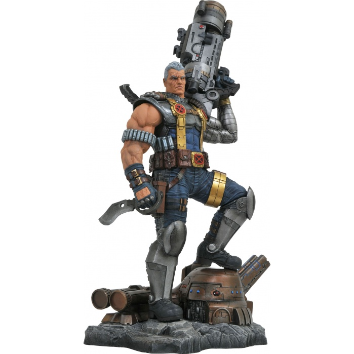 Marvel Premiere: Deadpool - Cable Resin Statue Diamond Select Toys Product