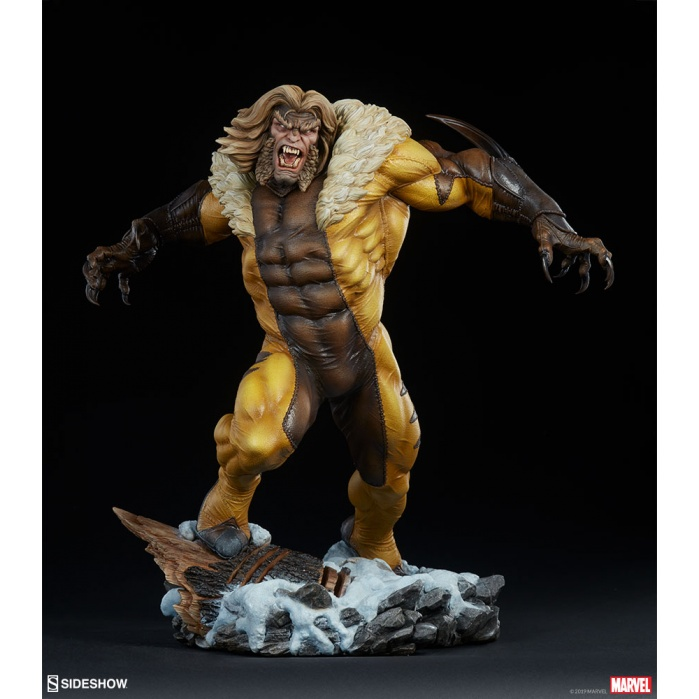 Marvel: Sabretooth Premium Format Statue Sideshow Collectibles Product