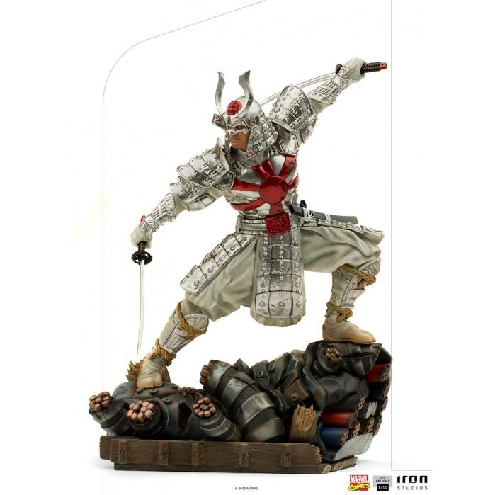 Marvel: Silver Samurai 1:10 Scale Statue Iron Studios Product