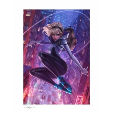 Marvel: Spider-Gwen Unmasked Variant Art Print - Sideshow Collectibles (NL)