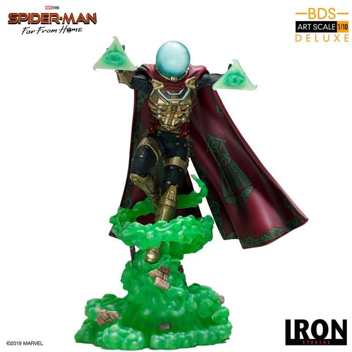 Marvel: Spider-Man Far from Home - Mysterio 1:10 Scale Statue Iron Studios Product
