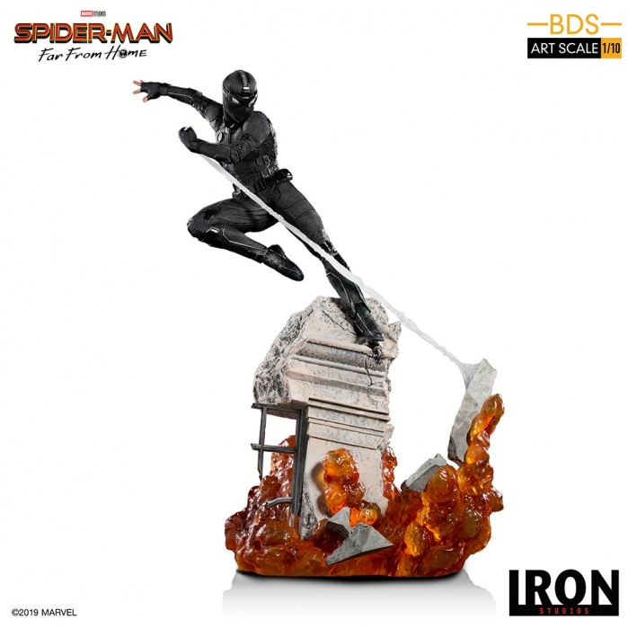 Marvel: Spider-Man Far from Home - Night-Monkey 1:10 Scale Statue Iron Studios Product