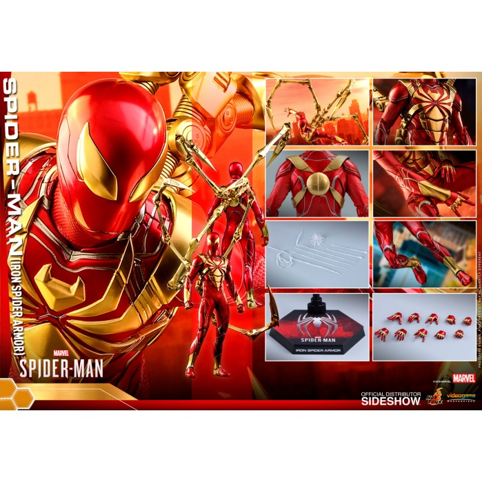 Marvel: Spider-Man Game - Iron Spider Armor 1:6 Scale Figure Hot Toys Product