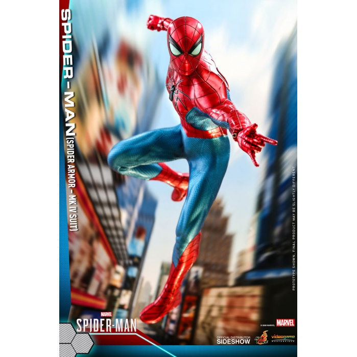 Marvel: Spider-Man Game - Spider Armor MK IV Suit 1:6 Scale Figure Hot Toys Product