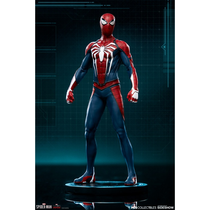 Marvel: Spider-Man Game - Spider-Man Advanced Suit 1:10 Scale Statue Sideshow Collectibles Product
