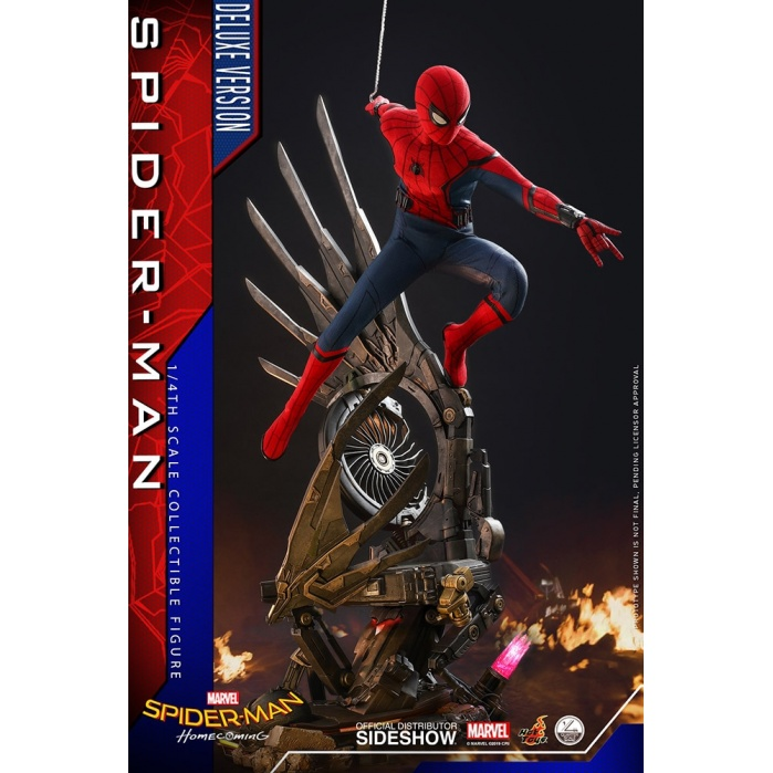 Marvel: Spider-Man Homecoming - Deluxe Spider-Man 1:4 Scale Figure Hot Toys Product