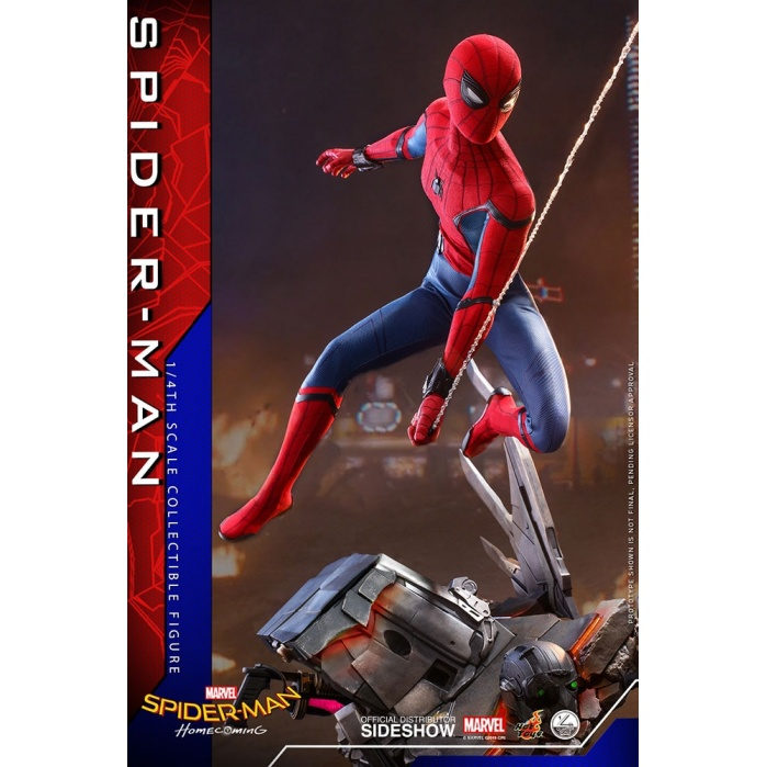 Marvel: Spider-Man Homecoming - Spider-Man 1:4 Scale Figure Hot Toys Product