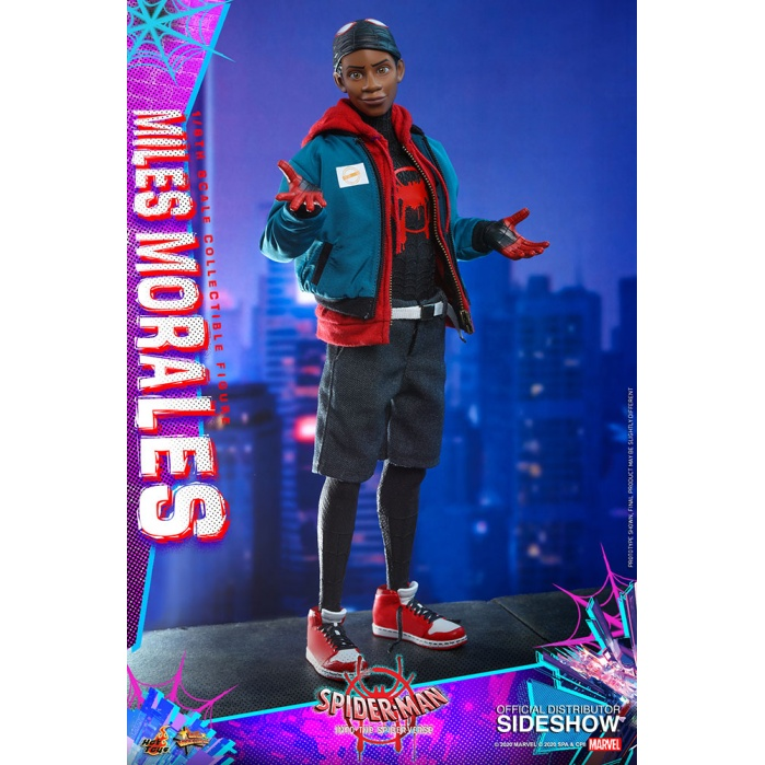 Marvel: Spider-Man into the Spider-Verse - Miles Morales 1:6 Scale Figure Hot Toys Product