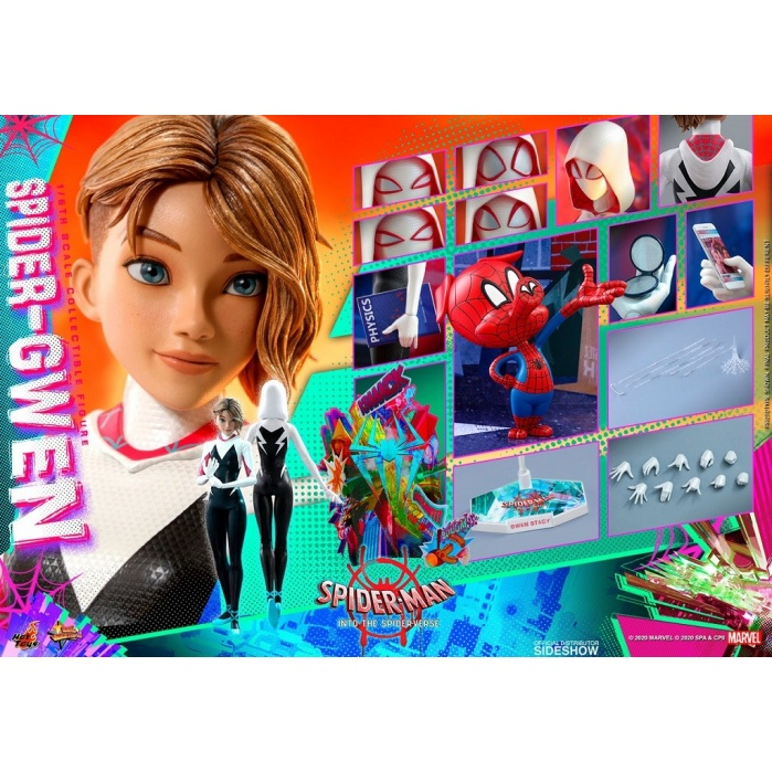 Marvel: Spider-Man into the Spider-Verse - Spider-Gwen 1:6 Scale Figure Hot Toys Product