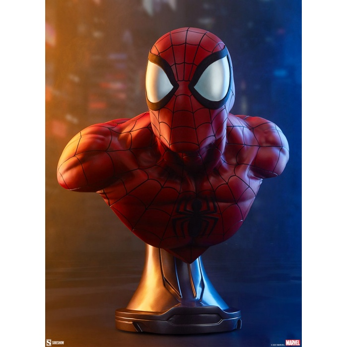 Marvel: Spider-Man Life Sized Bust Sideshow Collectibles Product
